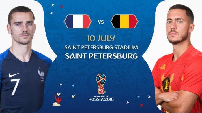Belgia Vs Prancis, Duel Dua Tim Tak Terkalahkan di Piala Dunia 2018