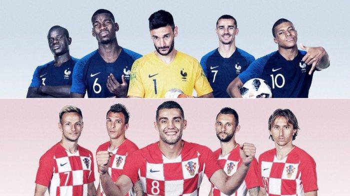 Perjalanan Kroasia Hingga Bisa ke Final Piala Dunia 2018
