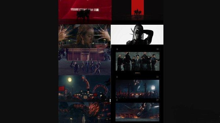 Perbandingan kemiripan video musik Younglex dan Zhang Yixing