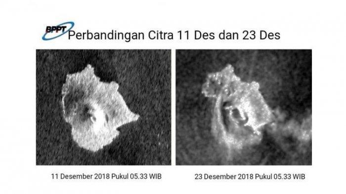 Sejarah Letusan Dahsyat Gunung Krakatau, Dasar Laut sampai Tersingkap, Pulau Lenyap