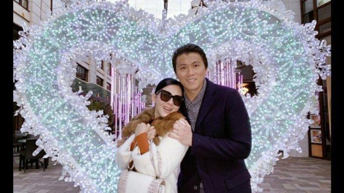 Bukan Dinner Mewah, Syahrini Main ke Taman di Tokyo dengan Reino Barack di Hari Valentine