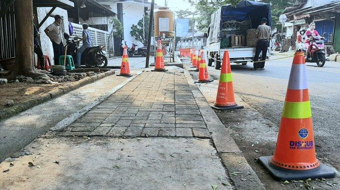 Pascapenertiban PKL Pasar Leuwipanjang Purwakarta, Trotoar Diremajakan, Eks PKL Dibuatkan Pasar Baru