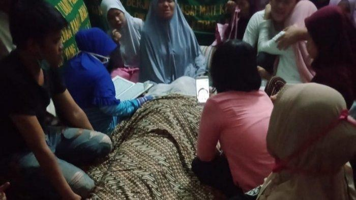 Rumah duka Fitri Yanti yang menjadi korban pembunuhan, Senin (31/8/2020).