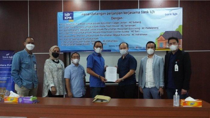 Permudah Kepemilikan Hunian, bank bjb Jalin Kerjasama dengan Pengembang Wilayah Jabar
