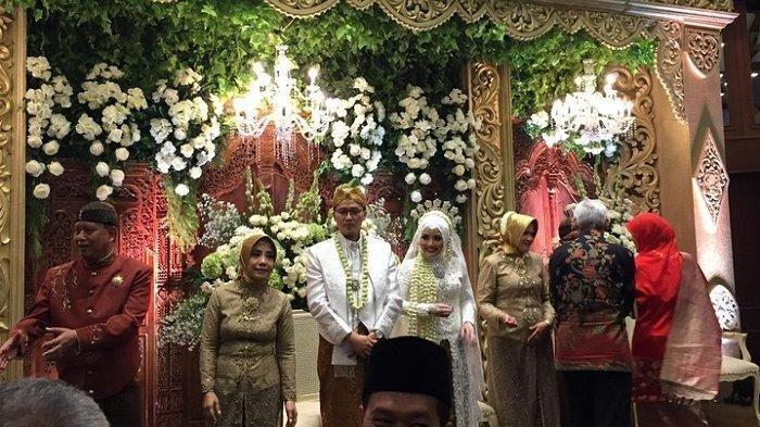 Jokowi Jadi Saksi Pernikahan Anak Menteri M Nasir di Semarang, Jusuf Kalla dan Menteri Lain Hadir