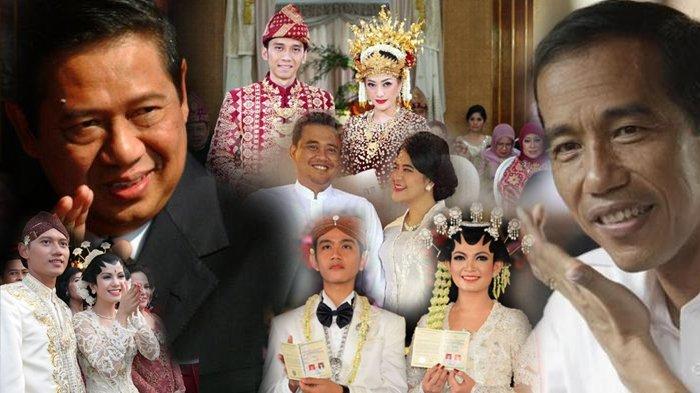 Dua Putra Sby Menikah Di Istana Mengapa Anak Jokowi Tidak Alasannya Sesederhana Ini Tribun Jabar