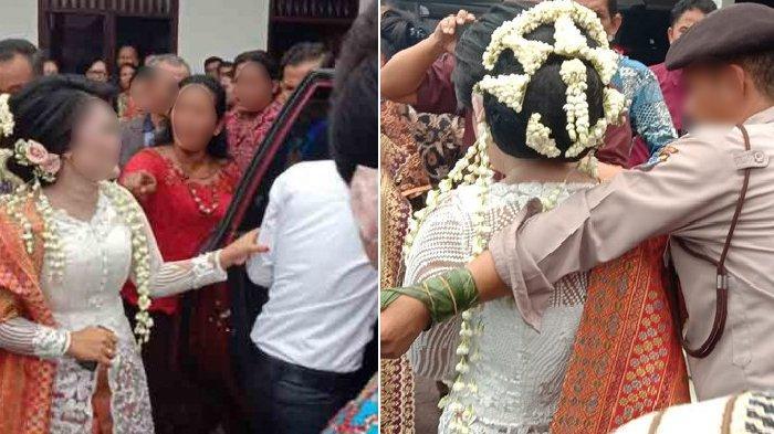 Pernikahan Mirip Sinetron, Suami Sah Mempelai Perempuan Datang saat Pemberkatan