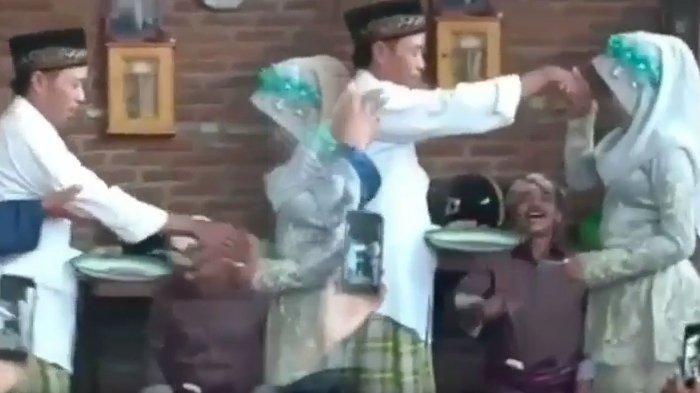 Pernikahan Kakek dan ABG, Beda Usia 41 Tahun, Ini yang Dilakukan Si Wanita ketika Tangannya Dicium