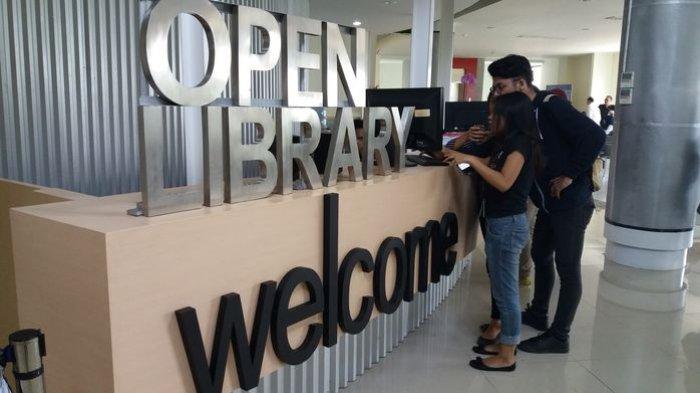 Perpustakaan Kampus dengan Teknologi Informasi Digital Ini Bisa untuk Umum