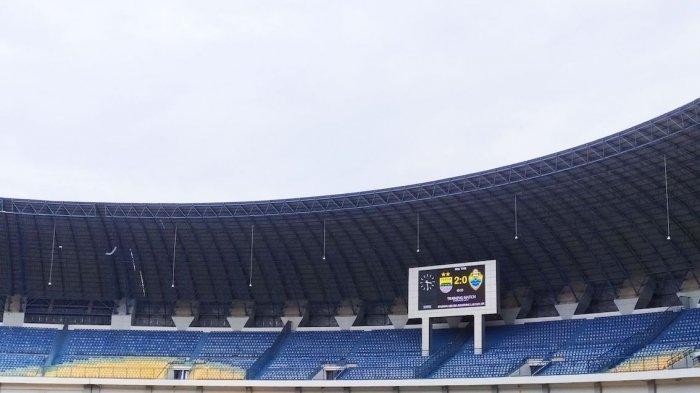 Goool, Wander Luiz dan Geoffrey Cetak Gol, Babak Pertama Persib Bandung Unggul 2-0 Lawan PSKC Cimahi