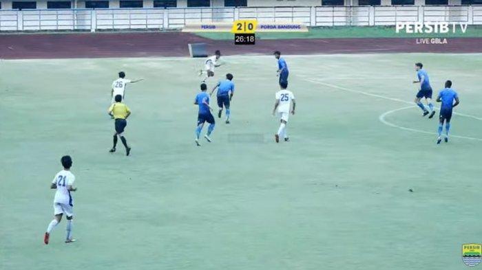 GOOOL, Persib Bandung Cetak 2 Gol, Tapi di Babak Kedua Pertahanan Sering Kedodoran, Masih Live!