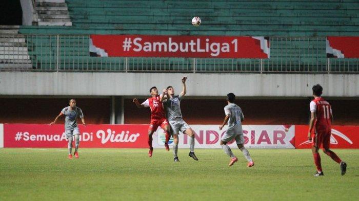 Persib Bandung kalah 0-2 dari Persija Jakarta dalam laga leg pertama final Piala Menpora di Stadion Maguwoharjo, Sleman, Yogyakarta, Kamis (22/4/2021).