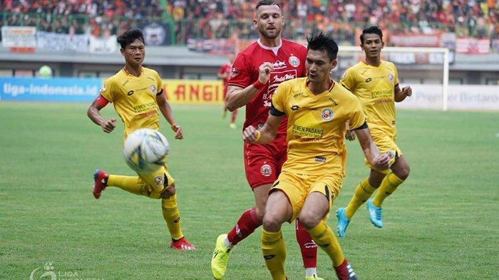 Kena Come Back Semen Padang, Persija Jakarta ke Zona Degradasi, Gagal Dekati Persib Bandung