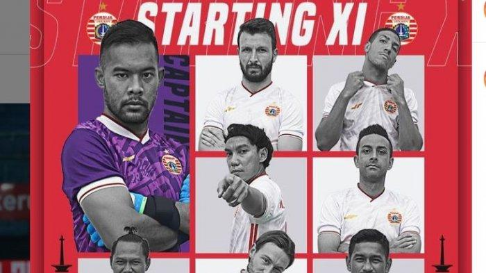 TONTON LIVE STREAMING INDOSIAR Persija Jakarta Vs Borneo FC, Bakal Sengit, Persija Ngotot Cetak Gol