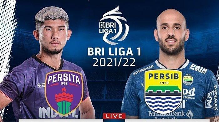 SESAAT LAGI Live Streaming TV Bersama Persita Tangerang vs Persib Bandung, Jangan Lengah