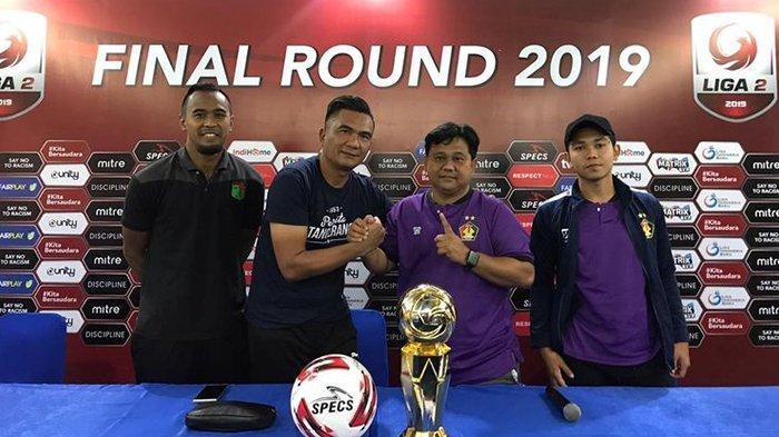 Live Streaming Vidio.com Persita Tangerang vs Persik Kediri di Final Liga 2 2019