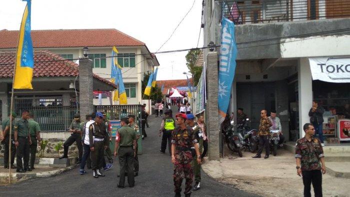 1.900 Personel Gabungan Berjaga Sejak Pagi, Ini Sejumlah Kegiatan Jokowi di Garut