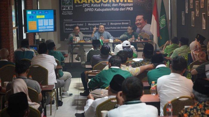 Pertegas Langkah Aksi PUMR, PKB Jabar Gelar Rakorwil Bersama Ketua DPC dan Pimpinan DPRD