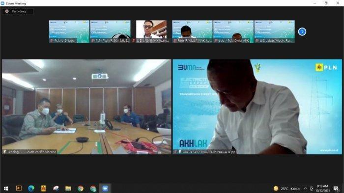 Perusahaan Penghasil Serat Viscose Menjadi Pelanggan Premium Platinum PLN UID Jawa Barat