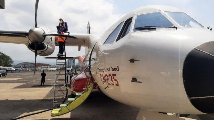 Keren, Pesawat CN235-220 Flying Test Gunakan Bioavtur, Bahan Baku Ada Dari Kelapa Sawit