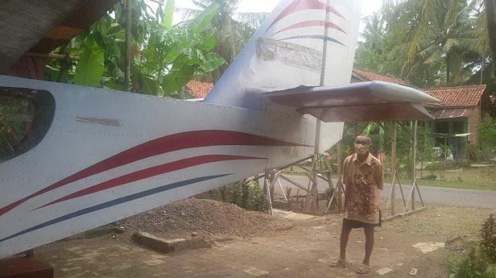 Kisah Heri Buat Pesawat Terbang Sendiri di Halaman Rumah, Berharap Susi Pudjiastuti Berkunjung