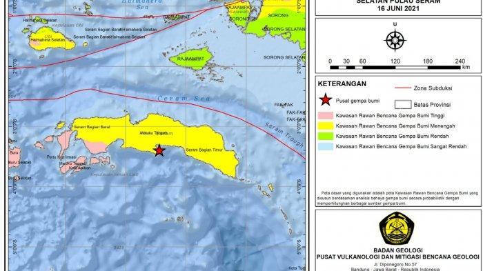 Air Laut Abnormal 50-60 cm Selama 3 Menit saat Gempa Bumi Berpotensi Tsunami di Maluku Tengah