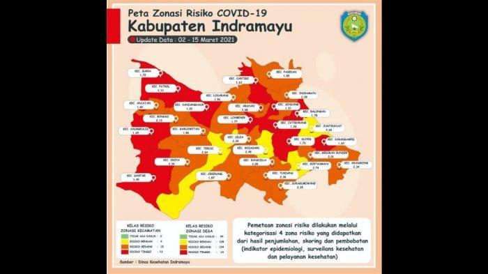 Sebaran Zona Merah di Indramayu Membaik, Kini Tersisa Tinggal 12 Kecamatan dengan Risiko Tinggi
