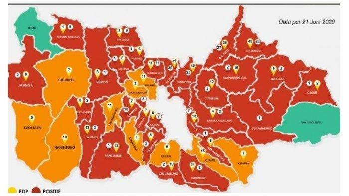 VIRAL DI WHATSAPP, Bogor Zona Hitam, Jakarta Zona Merah, Cek Fakta Sebenarnya