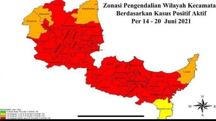 Makin Mengkhawatirkan, 35 Kecamatan di Kabupaten Cirebon Masuk Zona Merah Covid-19