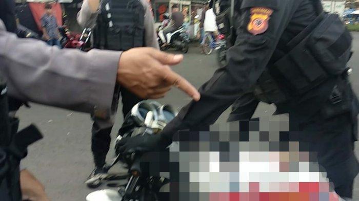 Ulah Lucu Pembalap Saat Polisi Gerebek Balapan Liar di Kota Tasik, Dorong Motor Pura-pura Mogok