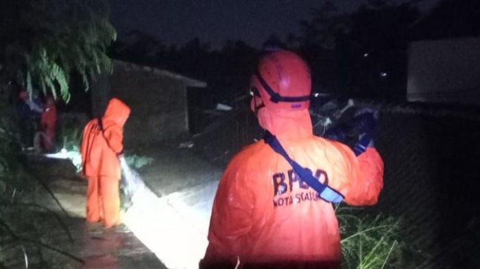 Tanah Longsor Terjadi di Kota Sukabumi Akibat Hujan dengan Intensitas Tinggi Mengguyur