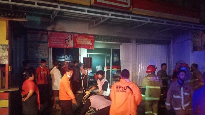 Polres Sukabumi Kota Pastikan Penyebab Minimarket Terbakar Bukan Korsleting Listrik, Tapi Ini