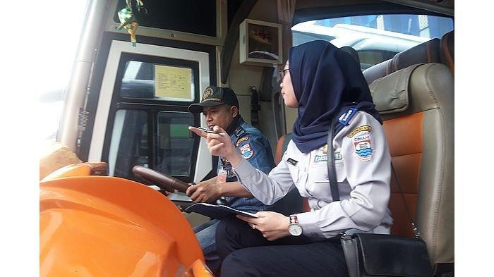 Dishub Kota Cimahi Periksa Bus yang Akan Digunakan Mudik Gratis