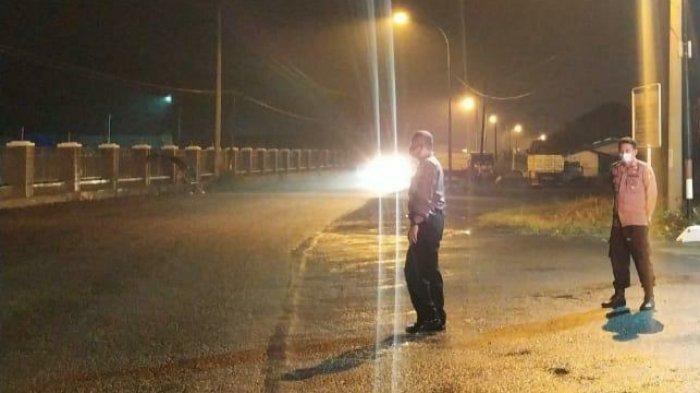 Polisi Datang, Peserta Balap Liar di Indihiang Tasik Kocar-kacir, Ada Motor Sampai Nyungsep ke Sawah