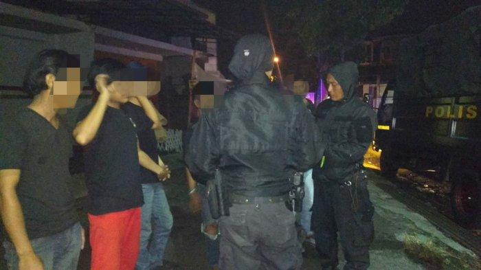 Polisi Sergap Sejumlah ABG yang Pesta Miras di Jalan BKR Kota Tasikmalaya