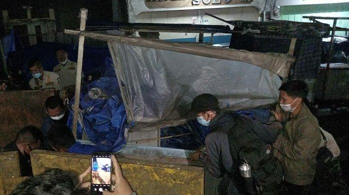 Kawasan Pedestrian Akan Ditata, Puluhan Gerobak PKL di Jalan Cihideung Kota Tasik Ditertibkan