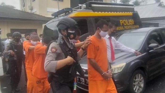 Lima Pengedar Narkoba Spesialis Peredaran Wilayah Kabupaten Tasikmalaya Dibekuk Polisi