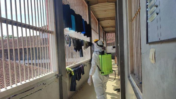 93 Warga Binaan di Lapas Majalengka yang Terpapar Covid-19, Lapas Langsung Disemprot Disinfektan