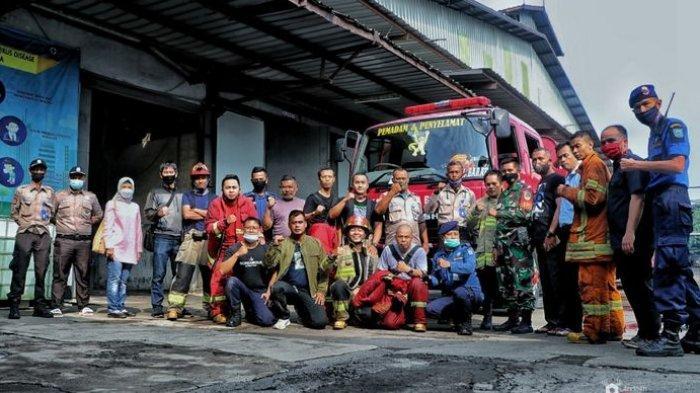 Pabrik Tekstil di Jalan Sudirman Cijerah Terbakar, Kerugian Capai Rp 100 Juta