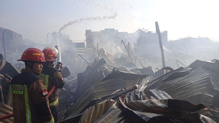 Pedagang Pasar Leles Garut yang Terbakar Diusahakan Dapat Keringanan Bayar Kredit Pinjaman dari Bank
