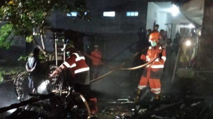 Rumah Pemilik Warung Soto PSGC Ludes Terbakar Saat Pemiliknya Tidur Lelap, Tapi Luput dari Maut