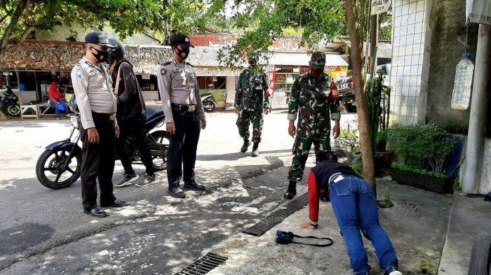 Operasi Yutisi, Petugas Gabungan Tindak 60 Pelanggar Prokes di Kawasan Objek Wisata Pangandaran