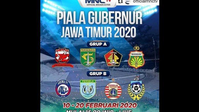 LIVE STREAMING TV Bersama Persebaya Surabaya vs Bhayangkara FC di MNCTV Sudah Dimulai