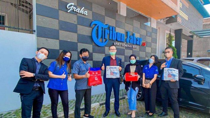 Manajemen Cordela Silaturahmi ke Tribun Jabar, Ceritakan 'Berkah' di Tengah Pandemi Covid-19