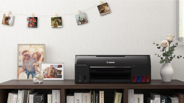 Canon PIXMA G570 & G670, Printer Ink Tank 6 Warna untuk Cetak Foto Berkualitas dan Efisien