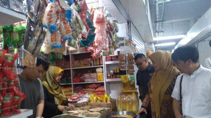 PKL di Depan Pasar Kosambi Kini Sudah Masuk ke Dalam Pasar, Ditempatkan di Semi Basement