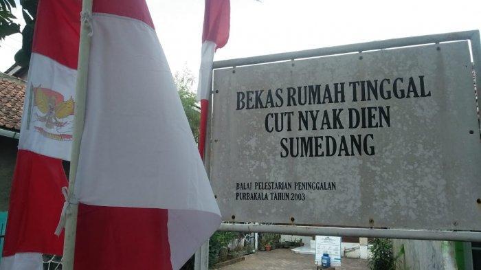 Menengok Rumah Pengasingan Pahlawan Asal Aceh Cut Nyak Dien di Sumedang, Asri, Berbahan Kayu Jati