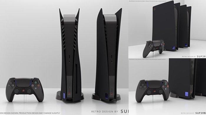 Ini Penampakan PS5 Bertema PS2, Warnanya Hitam, Harganya Lebih Mahal dari PS5 Biasa