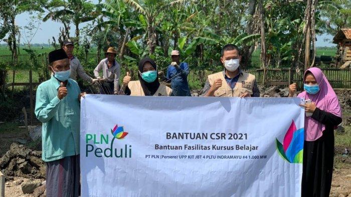 PLN Bantu Penambahan Ruang Belajar Rumah Tahfidz di Indramayu