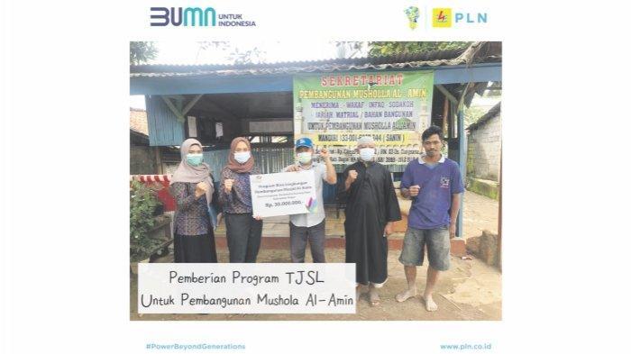 PLN Berikan Bantuan 535 Juta melalui Program Tanggung Jawab Sosial Lingkungan